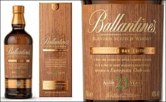 Свежий релиз 21 Year Old Signature Oak Edition от Ballantine's